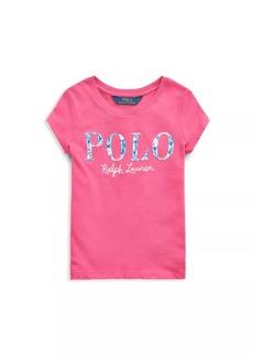 Ralph Lauren Little Girl's Cotton Jersey Polo T-Shirt