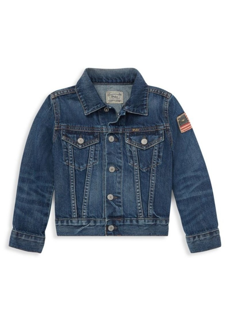 The Children's Place Little Boy's Denim Jacket