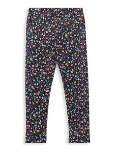Ralph Lauren Little Girl's & Girl's Floral Leggings