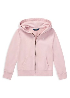 Ralph Lauren Little Girl's French Terry Hoodie