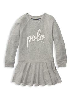 Ralph Lauren Little Girl's French Terry Sweater Dress