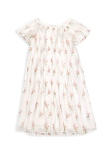 Ralph Lauren Little Girl's, Girl's & Girl's Pleated Dress