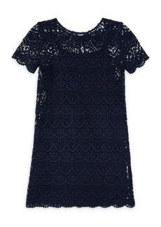 Ralph Lauren Little Girl's & Girl's Lace Cotton Dress