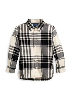 Ralph Lauren Little Girl's Plaid Shirt