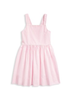 Ralph Lauren Little Girl's Seersucker Striped Fit-and-Flare Dress
