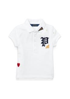 Ralph Lauren Little Girl's Short-Sleeve Polo Top