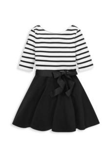 Ralph Lauren Little Girl's Stripe Sash Dress