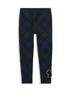 Ralph Lauren Little Girl's Tartan Leggings