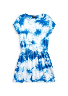 Ralph Lauren Little Girl's Tie-Dye Cotton Dress