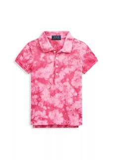 Ralph Lauren Little Girl's Tie-Dye Polo T-Shirt