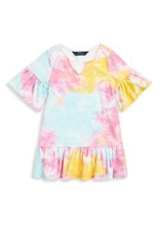 Ralph Lauren Little Girl's Tie-Dye Terry Cover-Up