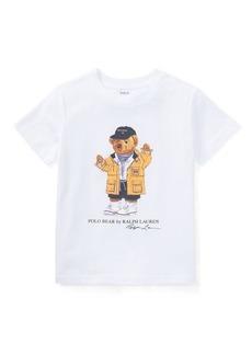 Ralph Lauren Little Kid Raincoat Bear Shirt