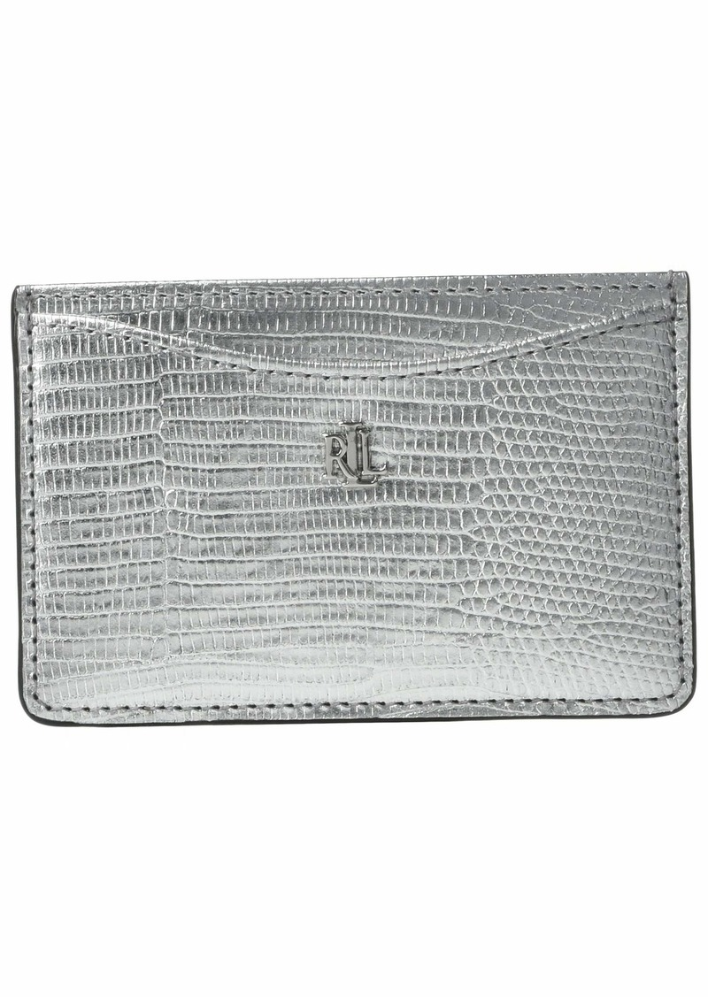 Ralph Lauren Lizard Embossed Slim Card Case Medium