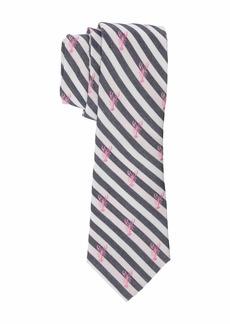 Ralph Lauren Lobster Stripe Tie