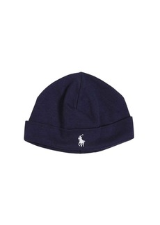 Ralph Lauren Logo Doubled Cotton Jersey Hat