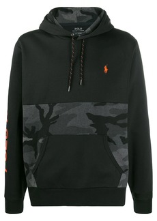 Ralph Lauren logo drawstring hoodie