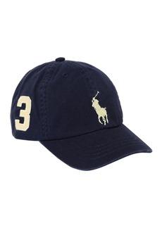 Ralph Lauren Logo Embroidered Cotton Gabardine Hat