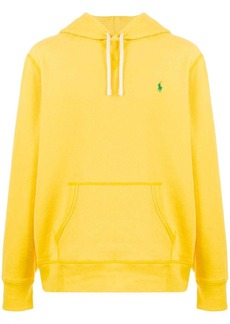 Ralph Lauren logo embroidered hoodie
