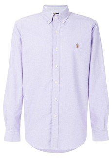 Ralph Lauren logo embroidered shirt