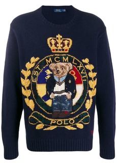 Ralph Lauren logo embroidered sweater