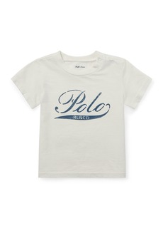 Ralph Lauren Logo Graphic Short-Sleeve Top  Size 6-24 Months