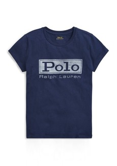 Ralph Lauren Logo Jersey Graphic T-Shirt