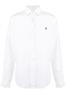 Ralph Lauren logo long-sleeve shirt