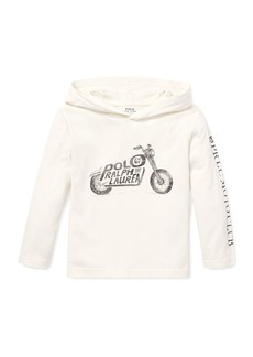 Ralph Lauren Logo Motorcycle Hooded Top  2-4