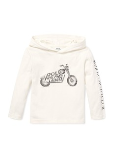 Ralph Lauren Logo Motorcycle Hooded Top  5-7
