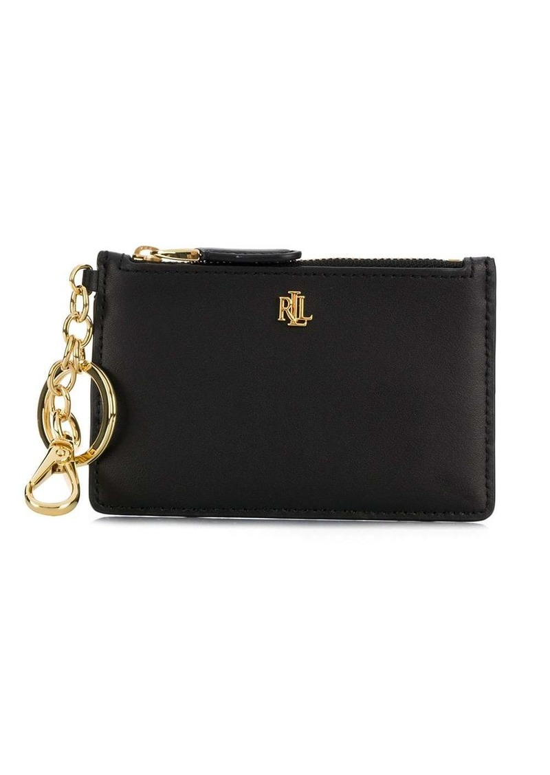 Ralph Lauren logo plaque coin purse
