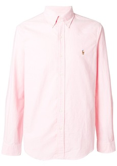 Ralph Lauren logo slim-fit shirt