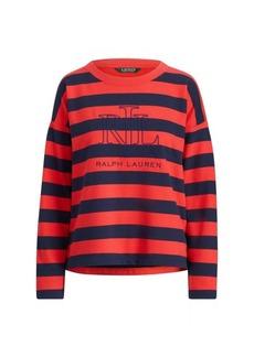 Ralph Lauren Logo Striped Terry T-Shirt