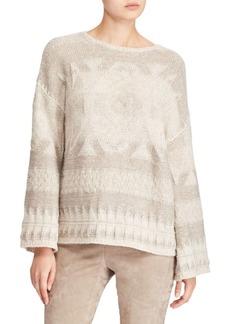Ralph Lauren Long Bell-Sleeve Sweater