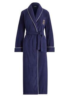 Ralph Lauren Long Fleece Robe