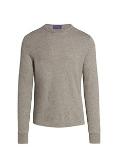 Ralph Lauren Long-Sleeve Cotton Crewneck