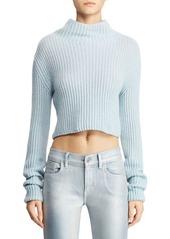 Ralph Lauren Funnel Neck Cropped Sweater