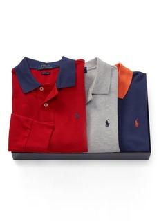 Ralph Lauren Long-Sleeve Polo 3-Piece Set