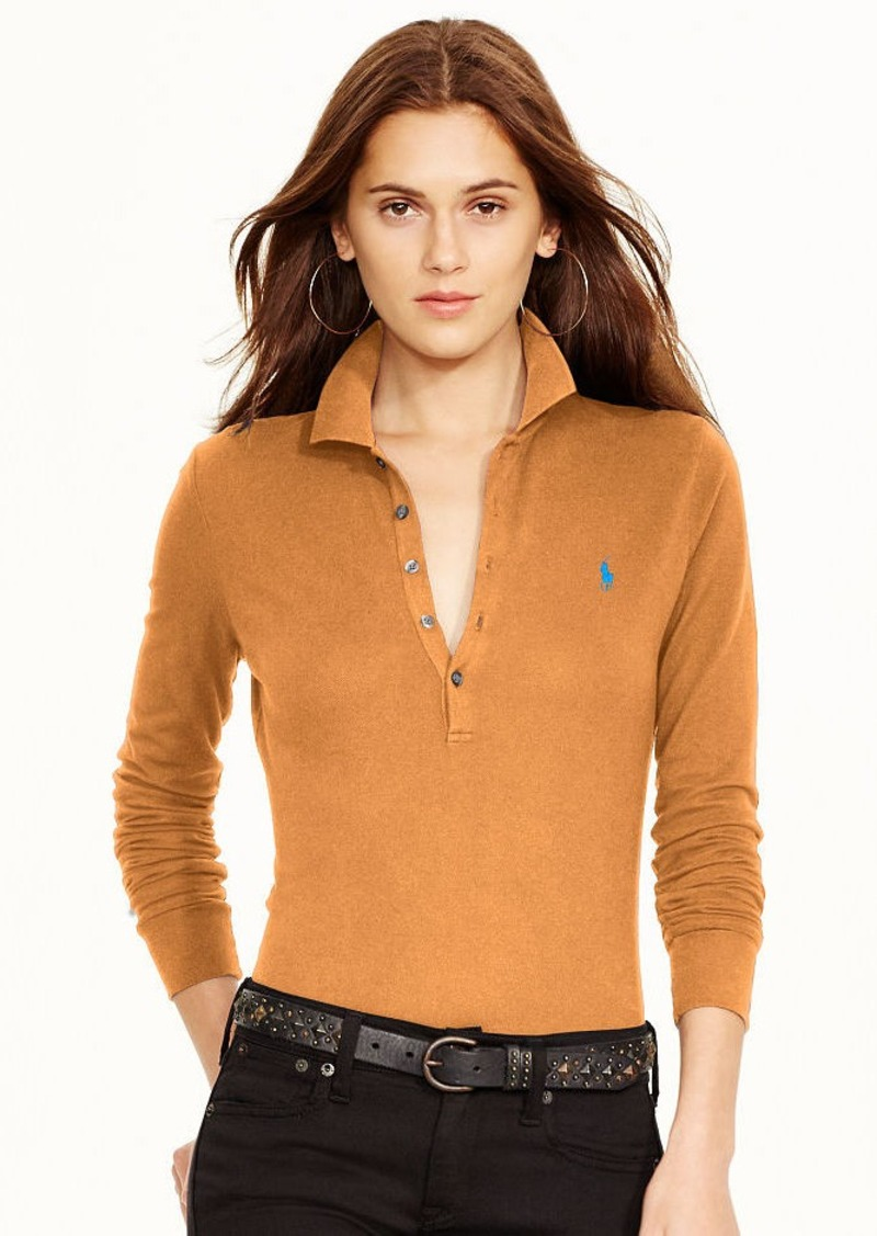 Ralph Lauren Long-Sleeve Stretch Polo