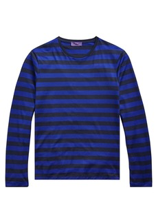 Ralph Lauren Long-Sleeve Striped Crewneck