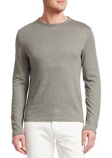 Ralph Lauren Long-Sleeve Wool-Blend Sweatshirt