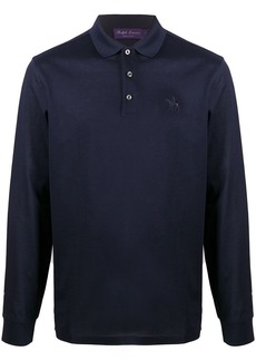 Ralph Lauren long-sleeved logo polo shirt