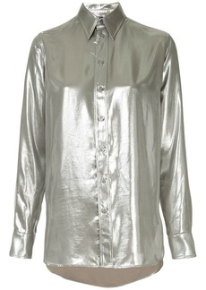 Ralph Lauren longsleeved metallic shirt
