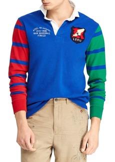 Ralph Lauren Loose Uneven Jersey Rugby Shirt