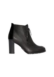 Ralph Lauren Lorenna Calfskin-Patent Boot
