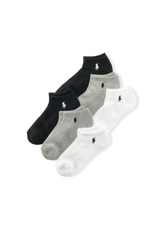 Ralph Lauren Low-Profile Sport Sock 6-Pack