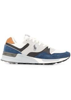 Ralph Lauren low top panelled logo sneakers