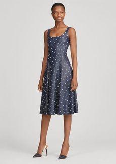 Ralph Lauren Luiza Leather Dress