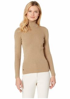 Ralph Lauren Lurex Turtleneck Sweater