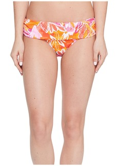 Ralph Lauren Lush Tropical Classic Shirred Banded Hipster Bottom