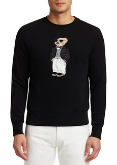 Ralph Lauren Lux Fleece Bear Sweatshirt